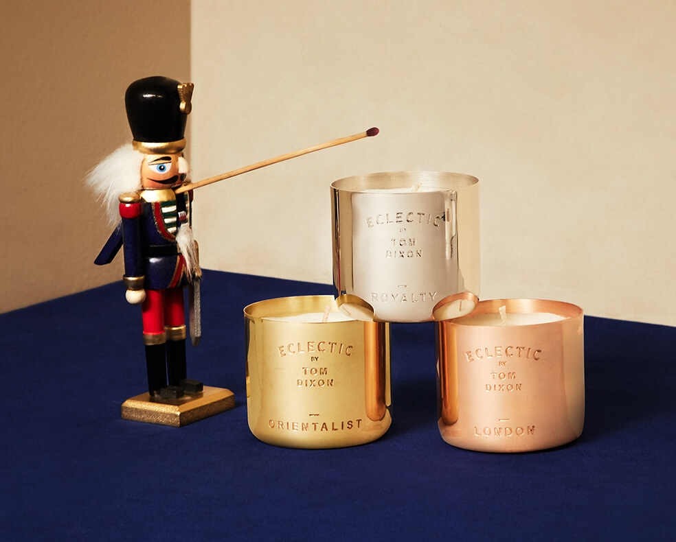 Tom Dixon Candle Trio