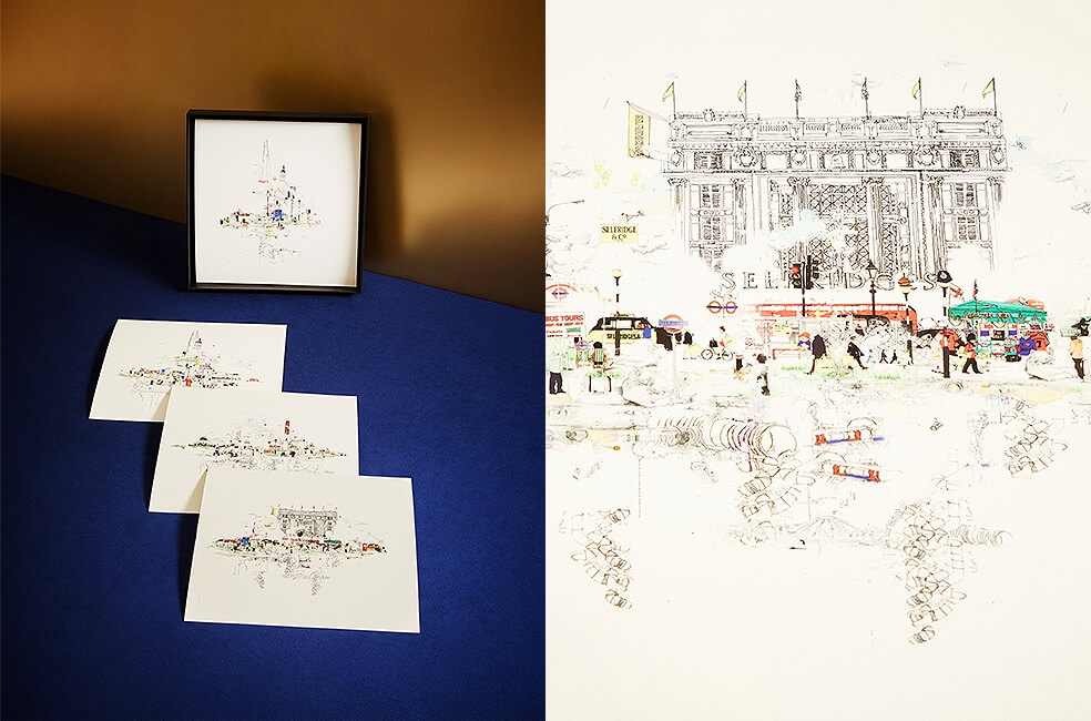 Art prints Selfridges