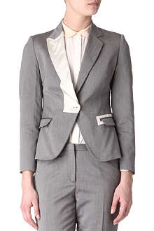 PAUL SMITH Contrast-lapel blazer