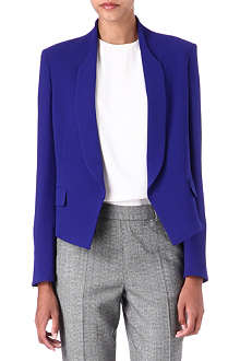 PAUL SMITH MAINLINE Curved-lapel crepe blazer