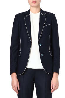 PAUL SMITH MAINLINE Contrast-piping wool blazer