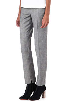 PAUL SMITH MAINLINE Checked straight-leg wool trousers