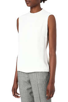 PAUL SMITH MAINLINE Sleeveless crepe top