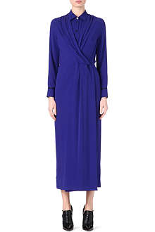 PAUL SMITH MAINLINE Draped shirt dress