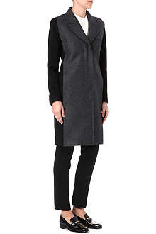 PAUL SMITH MAINLINE Two-toned panel coat