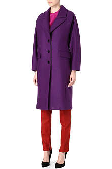 PAUL SMITH MAINLINE Raglan wool-blend coat