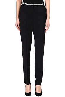 PAUL SMITH MAINLINE Wool-blend trousers