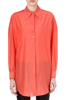 PAUL SMITH MAINLINE Oversized cotton-blend shirt