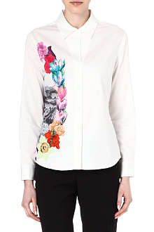 PAUL SMITH MAINLINE Postcard floral-print shirt