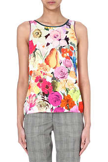 PAUL SMITH MAINLINE Floral-print top