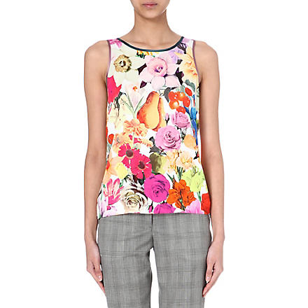 PAUL SMITH MAINLINE Floral-print top (Floral