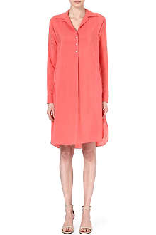 PAUL SMITH MAINLINE Silk-blend shirt dress