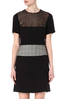 PAUL SMITH MAINLINE Contrast-panel shift dress