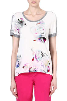 PAUL SMITH BLACK Rose jersey t-shirt