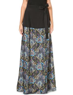 PAUL SMITH MAINLINE Paisley-print maxi skirt