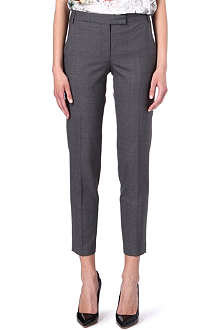 PAUL SMITH BLACK Slim wool trousers