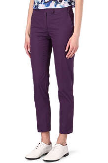 PAUL SMITH BLACK Straight-leg chino trousers