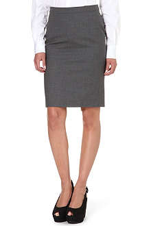 PAUL SMITH BLACK Pencil skirt
