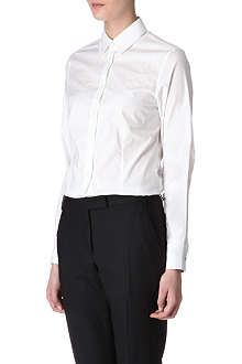 PAUL SMITH BLACK Printed-cuff shirt
