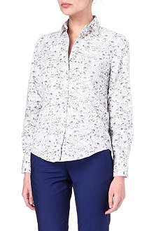 PAUL SMITH BLACK Floral-printed shirt