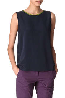 PAUL SMITH BLACK Silk top