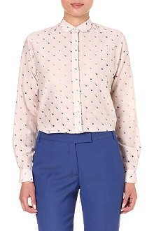 PAUL SMITH BLACK Smudge spot print shirt