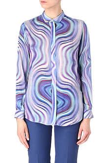 PAUL SMITH BLACK Classic swirl shirt