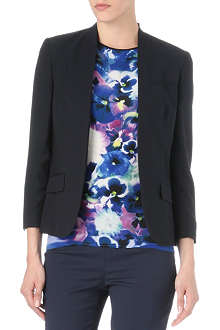 PAUL SMITH BLACK Buttonless blazer