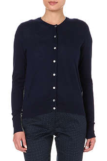 PAUL SMITH BLACK Two-tone cashmere cardigan