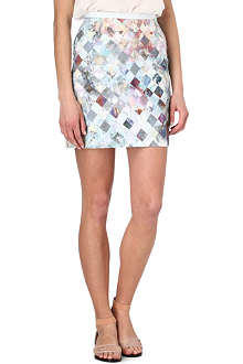 PAUL SMITH PAUL Check-print skirt