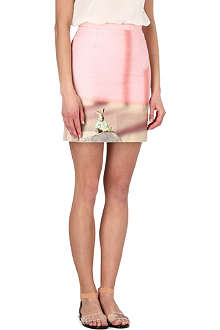 PAUL SMITH PAUL Bunny-print skirt