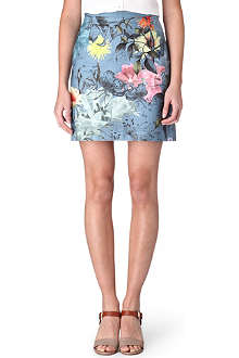 PAUL SMITH PAUL Botanical-print skirt