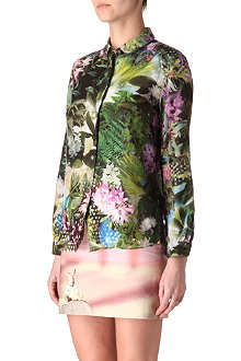 PAUL SMITH PAUL Botanical print shirt