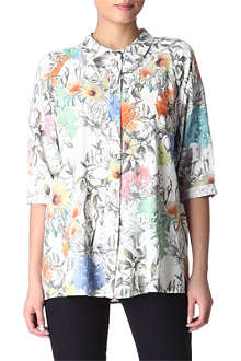 PAUL BY PAUL SMITH Floral-print shirt
