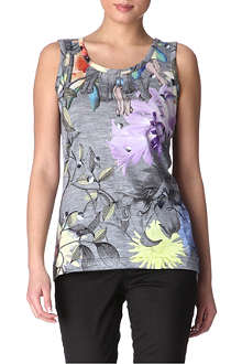 PAUL BY PAUL SMITH Floral-print top