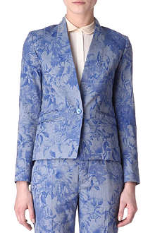 PAUL SMITH PAUL Floral-print blazer