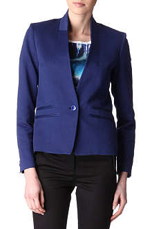 PAUL SMITH PAUL Linen and cotton-blend jacket