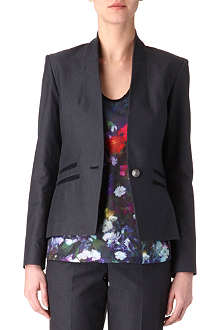 PAUL SMITH PAUL Pinpoint woven blazer