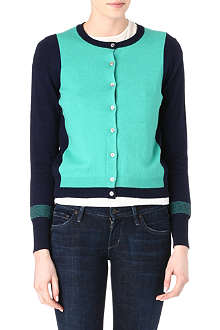 PAUL SMITH PAUL Two-tone cardigan