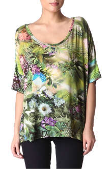 PAUL BY PAUL SMITH Botanical oversized t-shirt