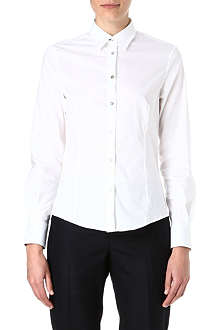 PAUL SMITH BLACK Magnolia cuff stretch-cotton shirt