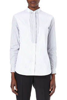 PAUL SMITH BLACK Contrast-placket shirt