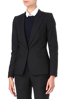 PAUL SMITH BLACK Single-button wool blazer