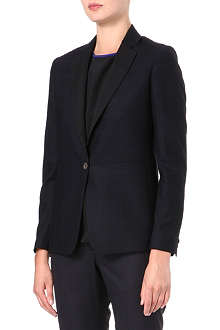 PAUL SMITH BLACK Checked wool blazer