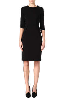 PAUL SMITH BLACK Contrast jersey shift dress