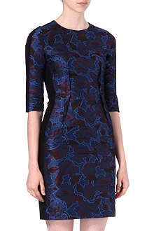 PAUL SMITH BLACK Jacquard shift dress