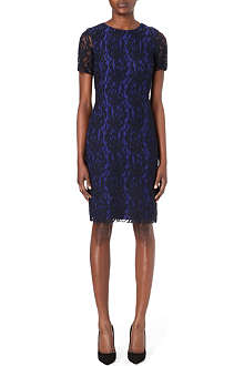 PAUL SMITH BLACK Lace shift dress