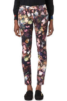 PAUL BY PAUL SMITH Romantic Rose skinny trousers