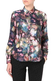 PAUL BY PAUL SMITH Romantic rose-print shirt