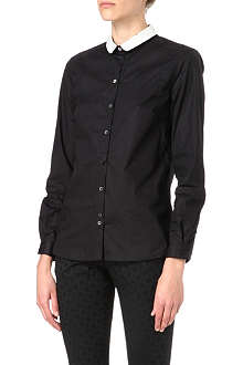 PAUL BY PAUL SMITH Contrast-collar shirt